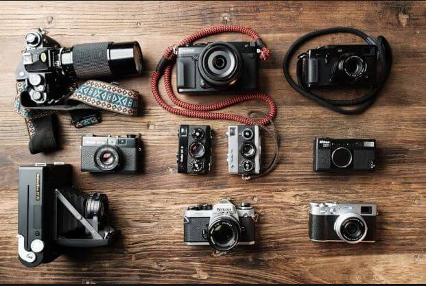who invented the film camera and its history